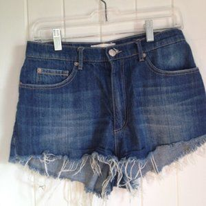 GARAGE high rise jean shorts Size 3